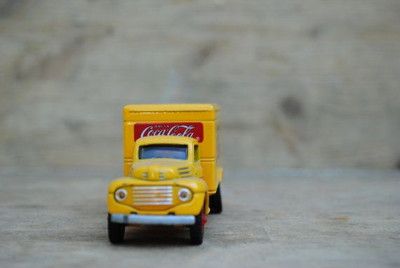 vintage Coca Cola lorry  truck by MonicaAntique on Etsy, €8.00