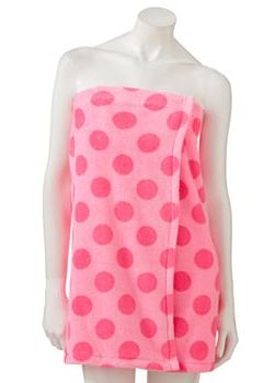 SO Plush Shower Wrap. Towels, Shower Wraps, And Shower Robes Are Great For