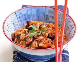 Овощное рагу из кабачков и капусты