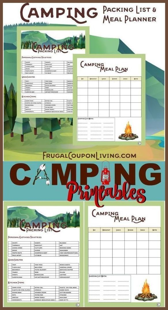 Best 25+ Camping food lists ideas on Pinterest Food list for - sample camping checklist