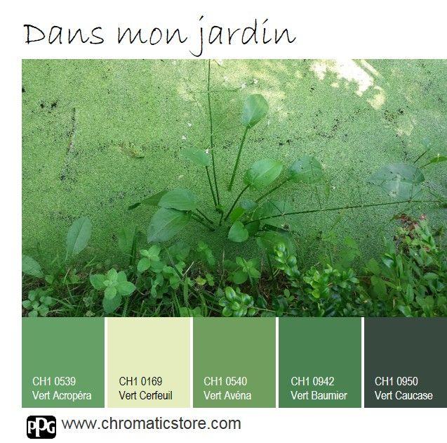 Le vert, quelles que soient les hauteurs de tons choisies et la pièce de destination, reste synonyme de détente et de pause au naturel. www.chromaticstore.com #déco #vert #nature