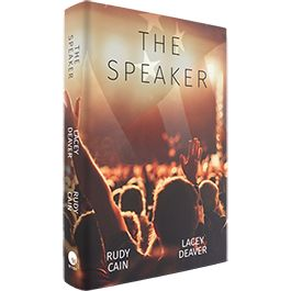 http://www.wvbs.org/index.php/the-speaker-softcover-book.html A compelling novel about an election year in America, lifted straight our of today's evening news. This 399-page soft-cover book is a fictional story by Rudy Cain and written by Lacey Deaver.