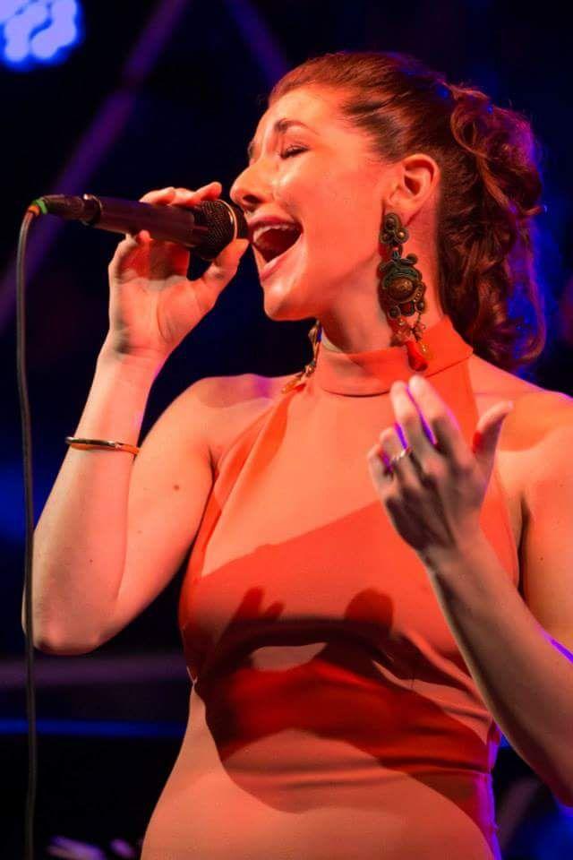 jazz singer Thana Alexa with Dori's Tuscany earrings. #doricsengeri #earrings #thanaalexa #singer #Performances