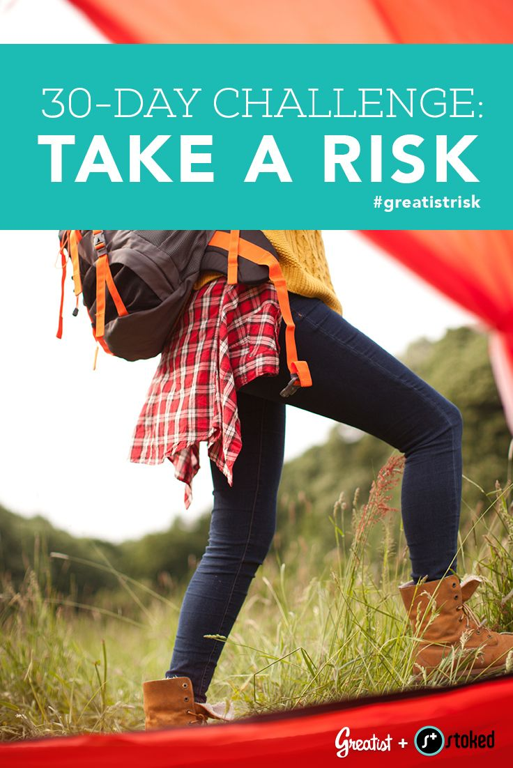 challenge and taking risk essay Risk-taking during childhood play print reference (2003) outdoor play: the case for risks and challenges in children's learning and development safekids news, 21, 5 if you are the original writer of this essay and no longer wish to have the essay published on the uk essays website.