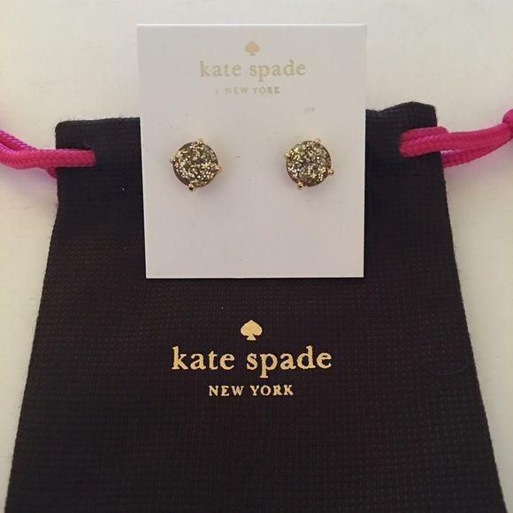 ♠️❤️NWT Kate Sapde Gold Glitter Bug Earrings♠️❤️ ♠️❤️NWT Kate Sapde Gold Glitter Bug Earrings♠️❤️ kate spade Jewelry Earrings