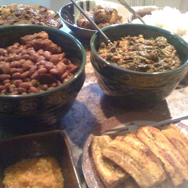 Great Traditional food from the D.R.Congo, yummy! Thanks Comers!..., ,