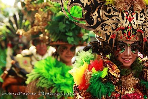 Solo Batik Carnival held this evening along Slamet Riyadi Street, Solo, Central Java, Indonesia.