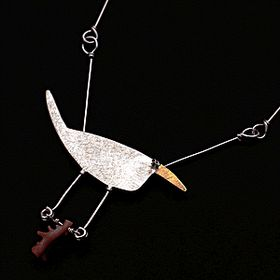Secret Life of Jewelry - A Universe of Handcrafted Art to Wear: Birds of a Feather Flock Together - Gabrielle Gould Jewelry