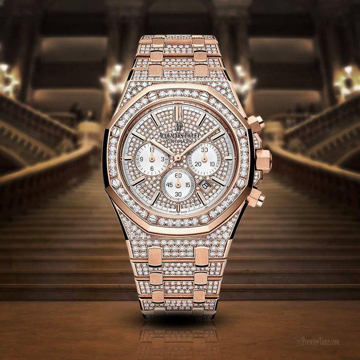 Audemars Piguet Royal Oak Chronograph Diamonds 39mm