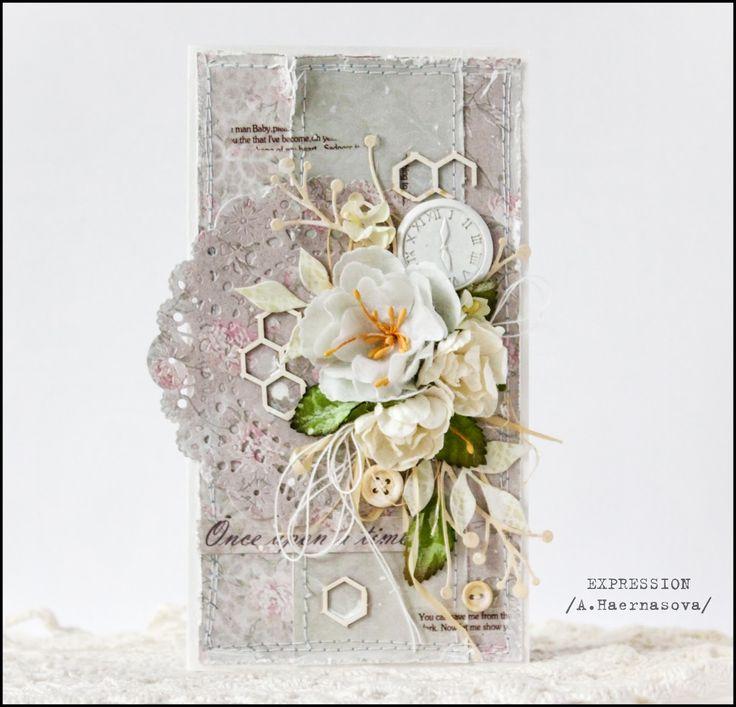 """Блог Scrapberry's. Бумага, гипсовое украшение, вырубка из коллекции """"Французское путешествие"""" цветы - все ScrapBerry's"""