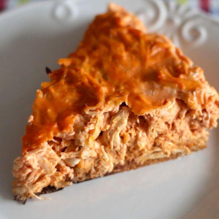 Essa torta de frango é super saudável e perfeita para um lanche fitness!