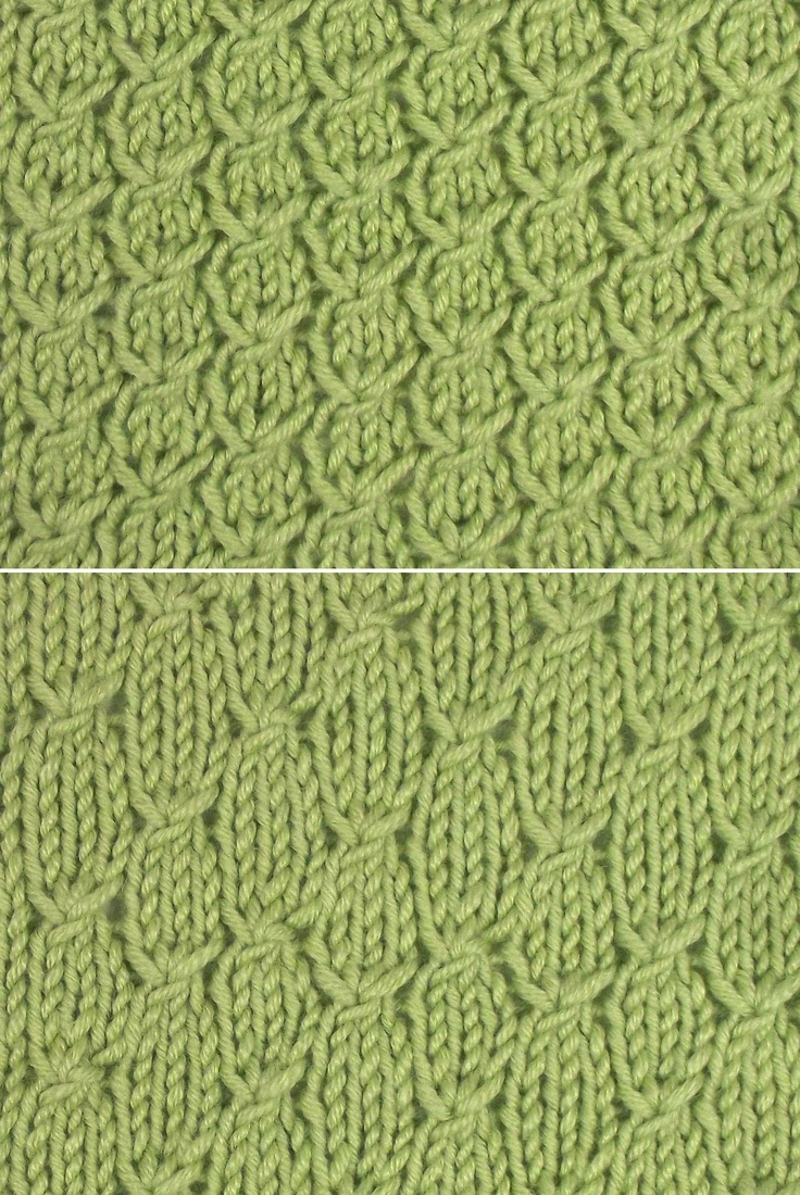Simple Textured Knitting Stitches