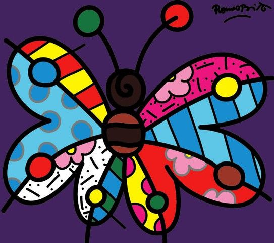 Giclee - Britto Word