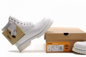 Cheap Timberland Men 6 Inch Boots All White