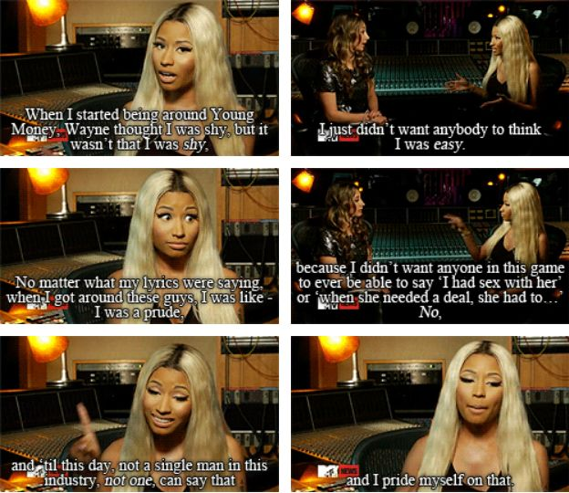 Truly, truly wise. | 13 Reasons Why Everyone Should Be More Like Nicki Minaj
