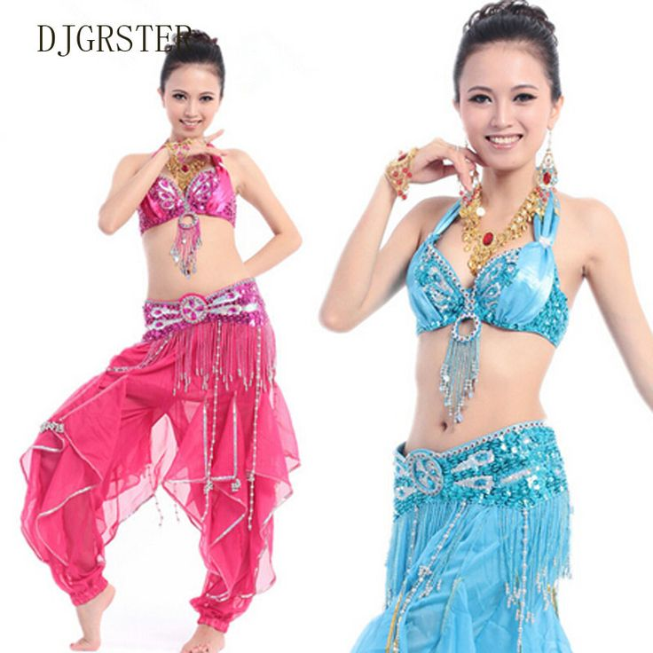 ==> [Free Shipping] Buy Best DJGRSTER Belly Dance Costume Set Bra&Belt&Skirt Bellydance Costume 5 Colors Belly Dancer Costume Professional Indian belly dance Online with LOWEST Price | 32619515664