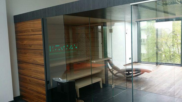 Sauna Best Line z prysznicem #sauna #sauny #prysznic #wellness #spa