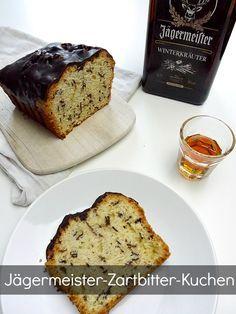 Rezept Kuchen mit Zartbitter Schokolade und Jägermeister für Männer