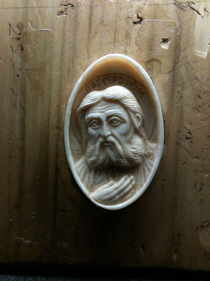 Handmade relief carving by vangelis tsoubris
