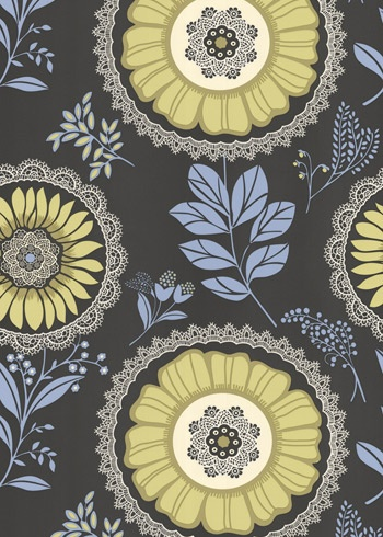 I want this wallpaper in a dining room ... above some white wood paneling on the bottom half of the wall.
