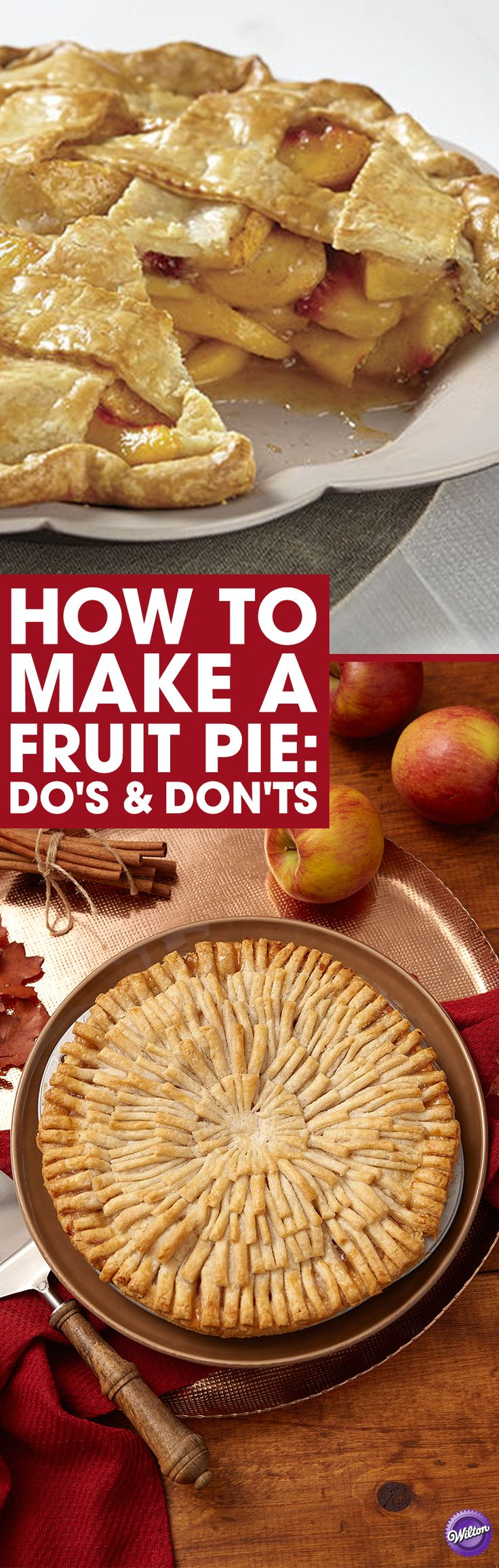 How to Make A Fruit Pie: Fruit pie season is year round. Learn the dos and don'ts of baking the perfect fruit pie!