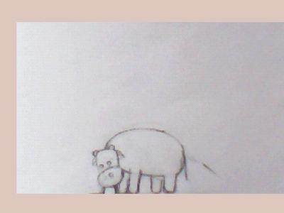 Time lapse proceso de animación 2d. Del lápiz a la tinta y de la tinta a digital.