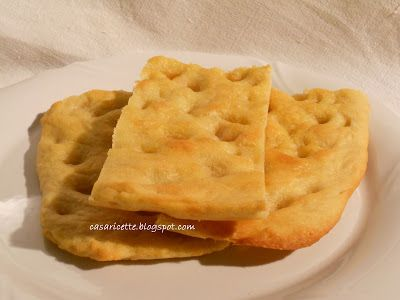 La casa delle ricette: Focaccia genovese con farina di kamut