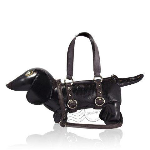 Dachshund Handbag   The Real Wool Shop