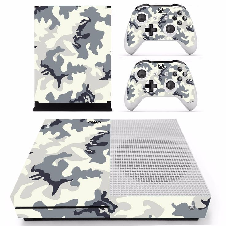Camouflage Special For XBOX ONE S Console Vinyl Sticker Wrap+Controllers Wraps