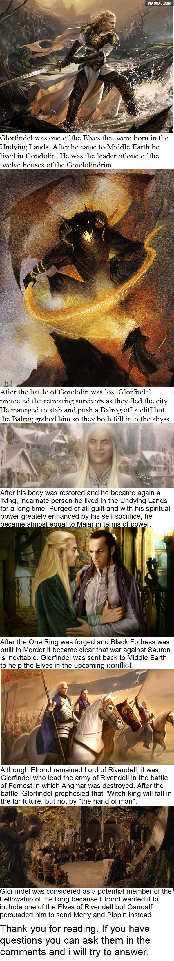 6 Glorfindel facts you may not have known