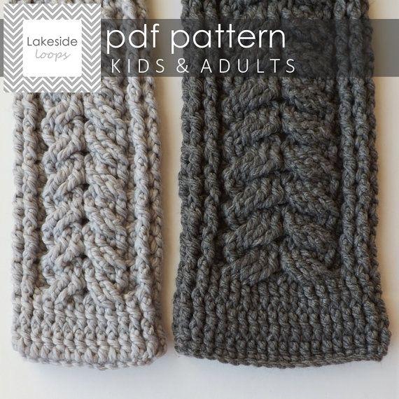 Crochet Pattern Elliott Scarf by Lakeside Loops by LakesideLoops