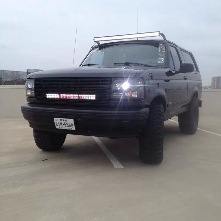 Bronco Light Bar