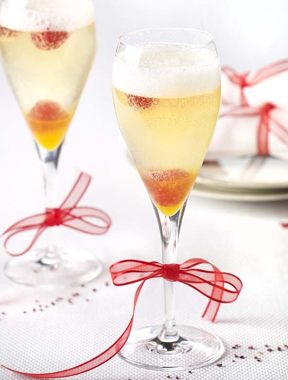 Fruity champagne