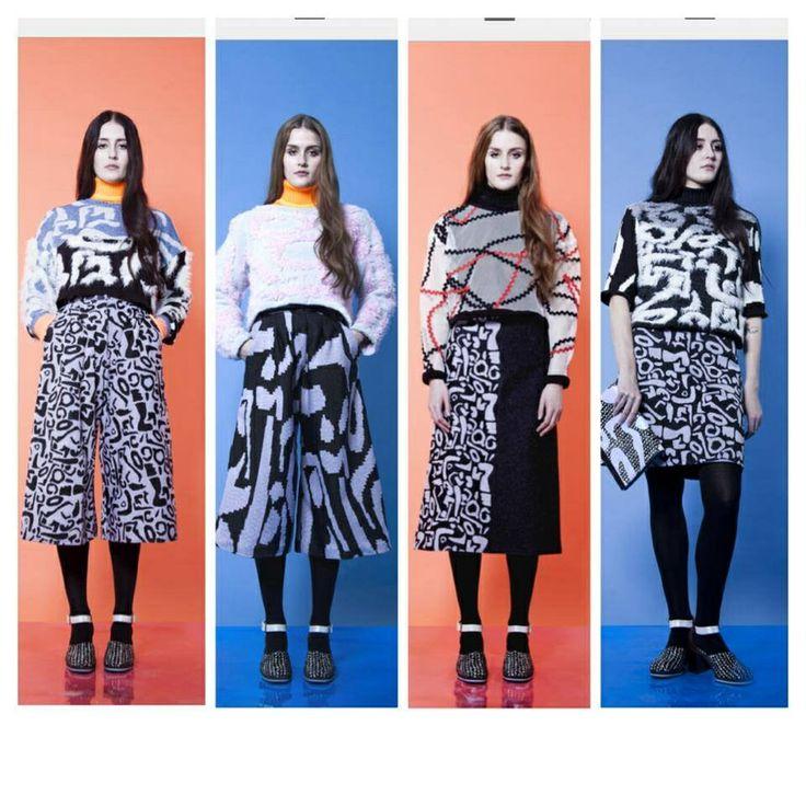 Leutton Postle AW14. LOVE IT!!!! #fashion #lfw #AW14