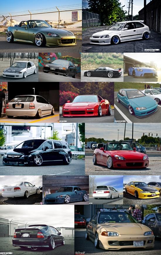 Hondas, hondas, hondas c;