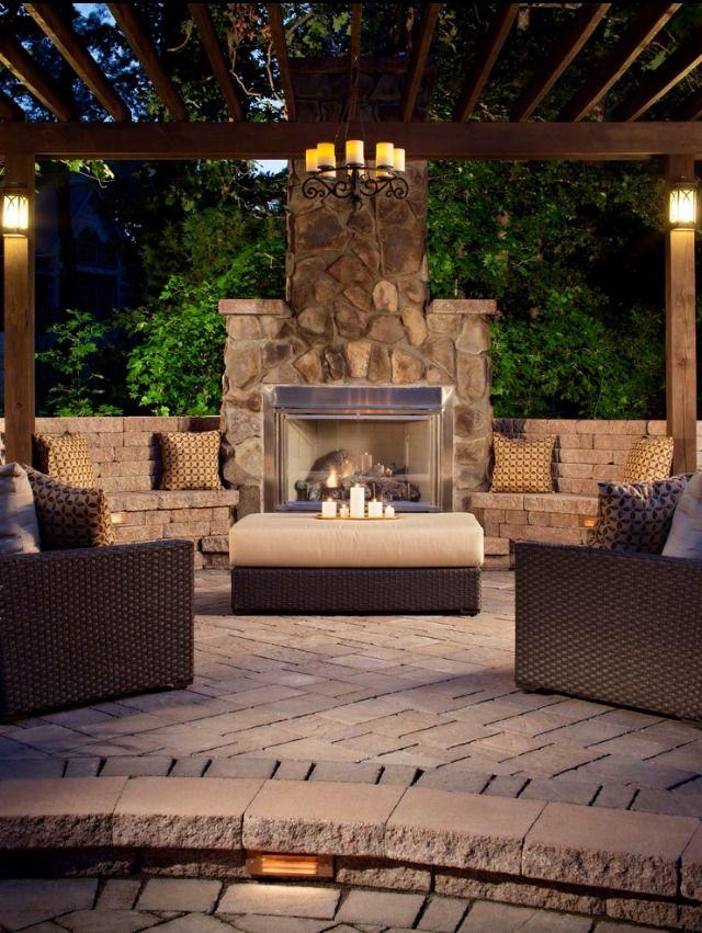 29 besten Backyard Bilder auf Pinterest Terrasse Ideen, Gärten und - wohnideen wohnzimmer mediterran