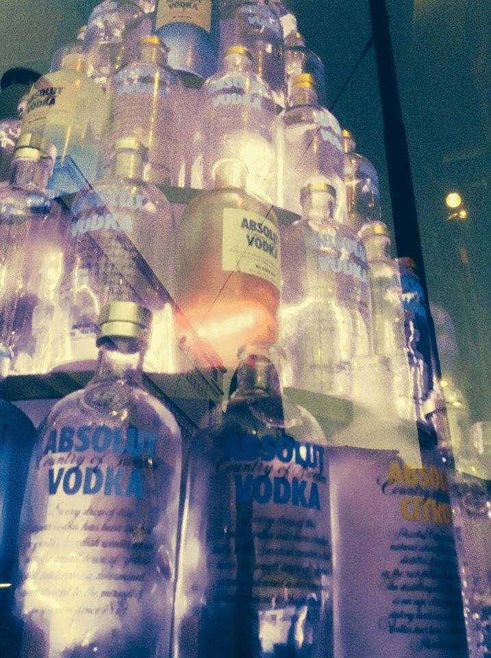 Absolut Christmas tree