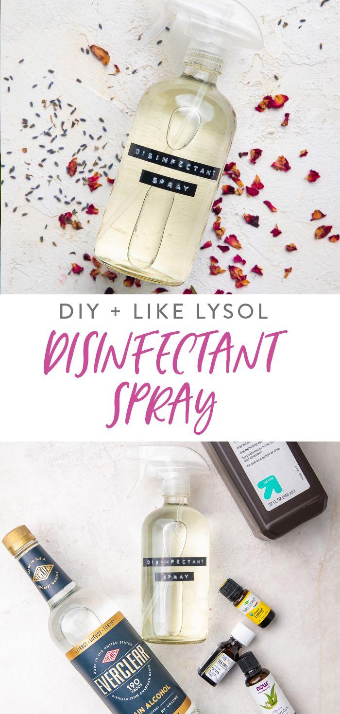 Diy Disinfectant Spray Like Lysol Spray With Video 40 Aprons Diy Sprays Disinfectant Spray Lysol