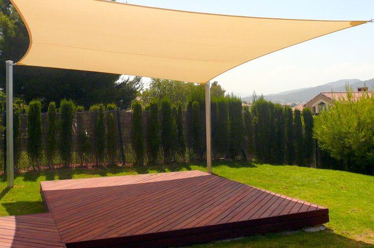 Beautiful Sun Sails U2013 Versatile Patio Sun Shade Sails With UV Protection |  Landscaping Ideas | Pinterest | Patio Sun Shades, Patios And Decking