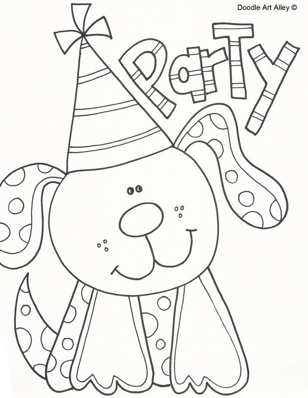 Picture | Birthday coloring pages, Mandala coloring pages ...