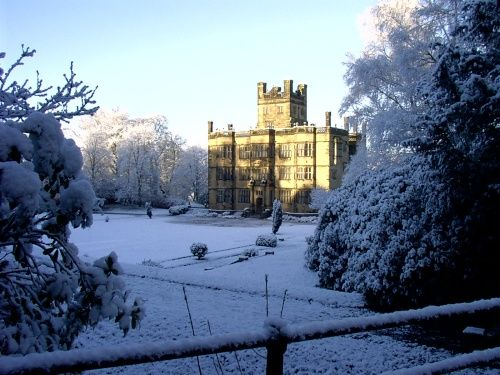 Gawthorpe Hall Padiham, Lancashire The Bronte sisters spent time here A picture of: Lancashire, Burnley