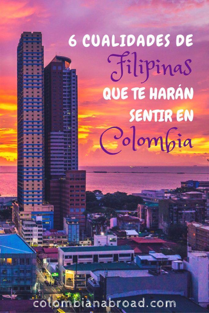 6 cualidades de Filipinas que te harán sentir en Colombia