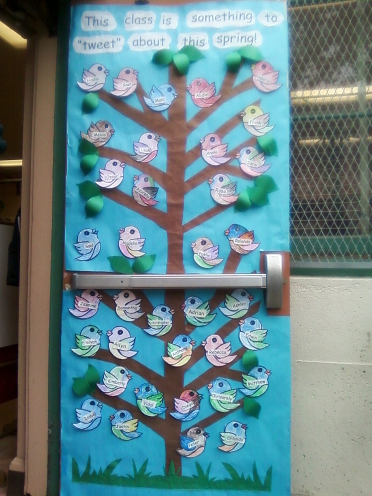98 best door decorations images on pinterest classroom for Decorating bulletin boards for work