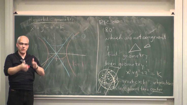 MathHistory12: Non-Euclidean geometry
