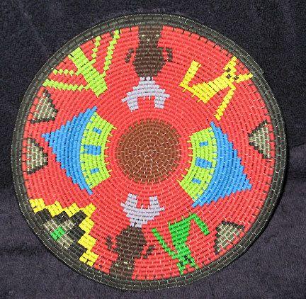 Traditional African Zulu Telephone Wire Story Basket | eBay