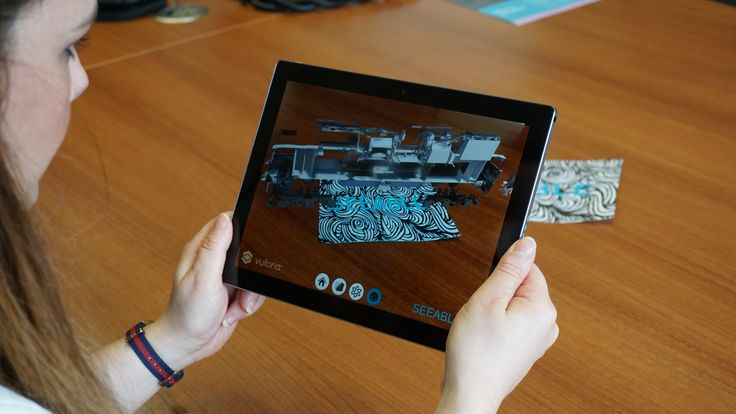 Scan to BIM to AR workflow - delivered as an AR app onto apple & android tablets