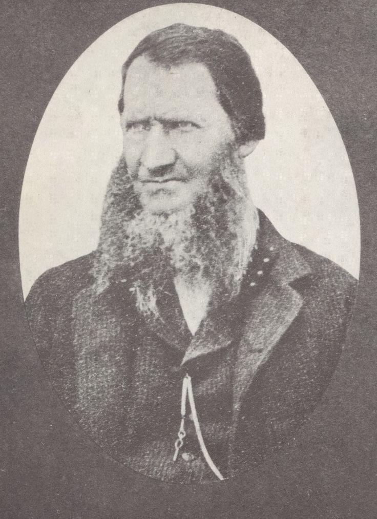 Voortrekker General Stephanus Schoeman, leader of all the Voortrekkers in the Northern-Transvaal