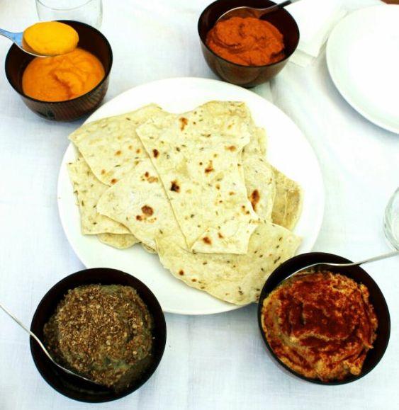 Chapati, pan indio  | #Receta de cocina | #Vegana - Vegetariana ecoagricultor.com