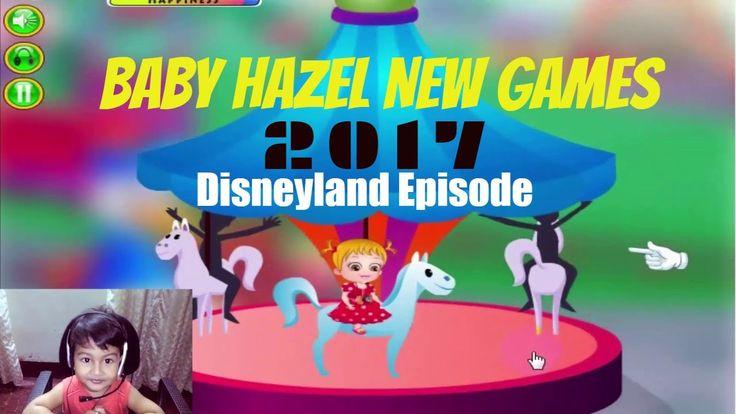 Baby Hazel New Games 2017   Baby Hazel in Disneyland   Funny Baby Games ...