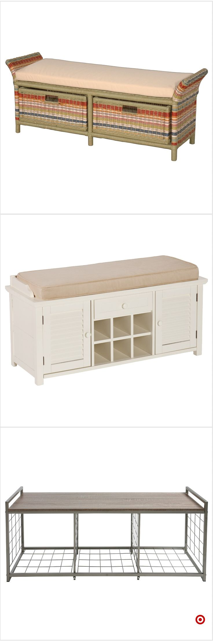 Shop Target for entryway benches  storage benches you will love at great low prices. Free shipping on orders of $35+ or free same-day pick-up in store.